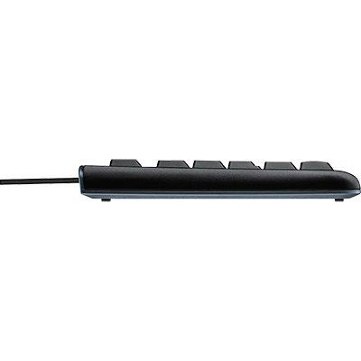 Kit wired combo Teclado e Mouse com fio USB Logitech MK120 com Design Confortável, Durável e Resistente à Respingos e Layout ABNT2 CX 1 UN