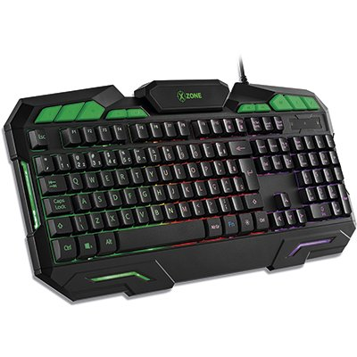 Kit Gamer mouse e teclado GTC-01 90012-01 X-zone CX 1 UN
