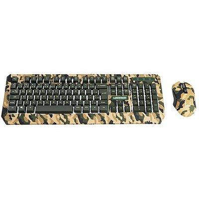 Kit Gamer (mouse/teclado) Army TC249 Warrior CX 1 UN
