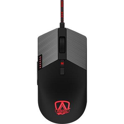 Mouse Gamer UBS 16.000 Dpi Agon RGB, 8 botões, Ajuste de Peso, AGM700 - AOC CX 1 UN