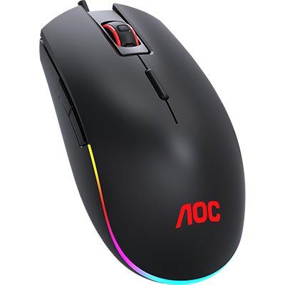 Mouse Gamer UBS 5.000 Dpi RGB, 8 botões, GM500 - AOC CX 1 UN