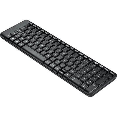 Teclado sem fio Logitech K230 com Design Compacto, Conexão USB, Pilhas Inclusas e Layout ABNT2 CX 1 UN