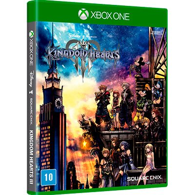 Jogo Kingdom Hearts III XBox One SE000185XB1 Square Enix PT 1 UN