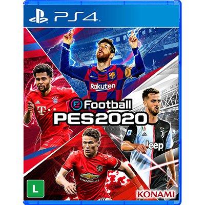 Jogo PES 2020 - eFootball Pro Evolution Soccer Playstation 4 / PS4 Konami PT 1 UN