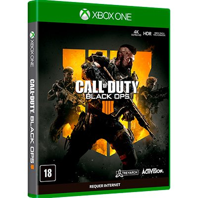 Jogo Call of Duty: Black Ops 4 Xbox One AB100XB1 Activision PT 1 UN