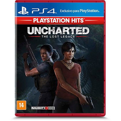 Jogo Uncharted The Lost Legacy Playstation 4 / PS4 - Playstation Hits Sony PT 1 UN