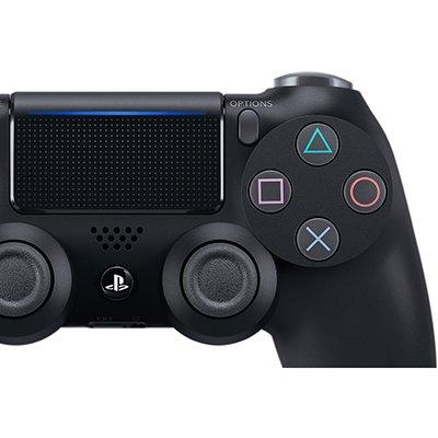 Controle Dualshock sem fio PS4 Black Sony CX 1 UN