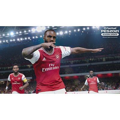 Jogo eFootball PES 2021 PS4 Konami CX 1 UN