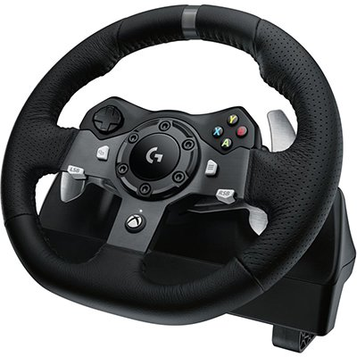 Volante Logitech G920 Driving Force para Xbox Series XS, Xbox One e PC CX 1 UN