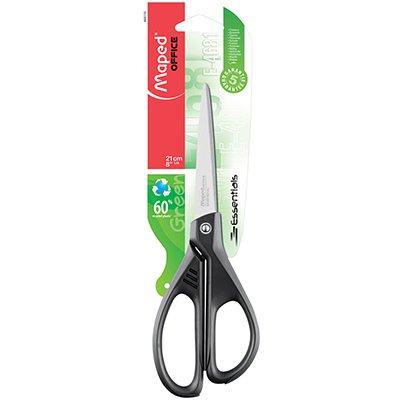 Tesoura essentials 21cm Essentials Green 468110 Maped BT 1 UN