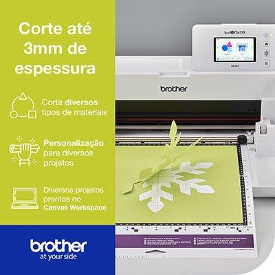 Máquina para recorte c/Scanner ScanNCut SDX85 110v - Brother CX 1 UN