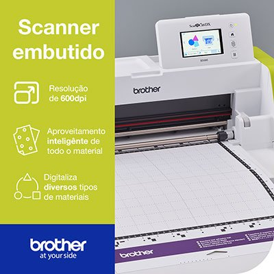 Máquina para recorte c/Scanner ScanNCut SDX85 220v - Brother CX 1 UN