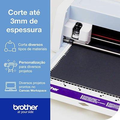 Máquina para Recorte c/Scanner ScanNCut 220v SDX225V Brother CX 1 UN