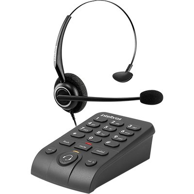 Telefone c/headset HSB50 Intelbras CX 1 UN