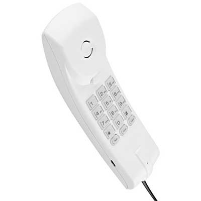 Telefone gôndola cinza artico/branco TC20 Intelbras CX 1 UN