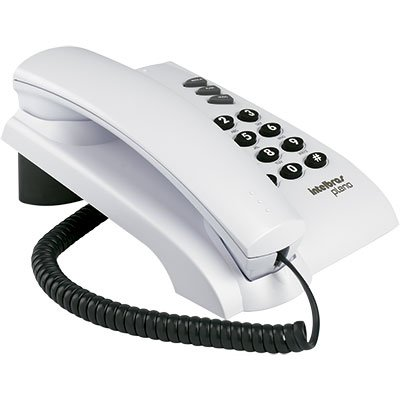 Telefone de mesa pleno c/chave cinza artico Intelbras CX 1 UN