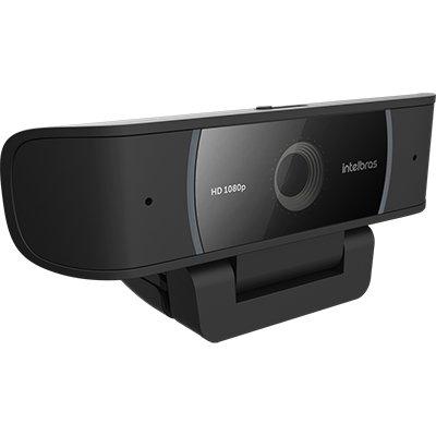 Câmera webcam USB 1080p 4291080 Intelbras CX 1 UN