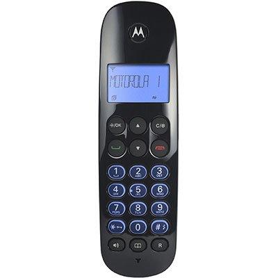 Telefone s/ fio Dect 6.0 c/ identificador de chamadas preto MOTO700 Motorola CX 1 UN