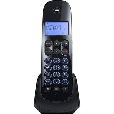 Telefone s/ fio Dect 6.0 c/ identificador de chamadas e viva voz MOTO750 Motorola CX 1 UN