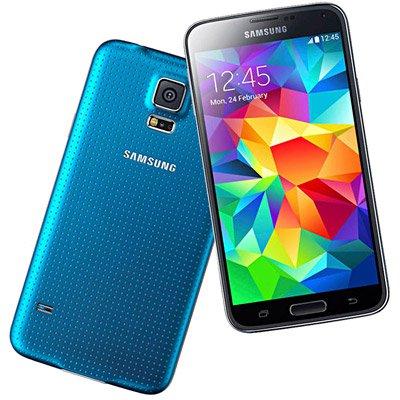 """Smartphone Galaxy S5 G900M, Android 4.4, Memória de 16gb, Câmera de 16mp, Tela de 5.1"""", Azul - Samsung CX 1 UN"""