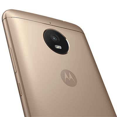 """Smartphone Moto E4 Plus, Android 7.0, Câmera de 13mp, Memória Interno de 16gb, Tela de 5.5"""", Dourado - Motorola CX 1 UN"""