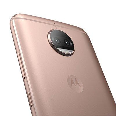 Smartphone Moto G5S Plus XT1802, Dual Chip, Android 7.1, Memória Interna de 32gb, Ouro rosê - Motorola CX 1 UN