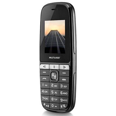 "Telefone celular Up Play Dual Chip VGA 1.8"" PT P9076 Multilaser CX 1 UN"
