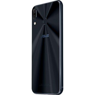 """Smartphone Zenfone 5 ZE620KL, Snapdragon 636, 1.8 GHz, Câmera Frontal de 8mp, Câmera Traseira de 12mp, Memória Interna de 64gb, Tela de 6.2"""", Preto - Asus CX 1 UN"""