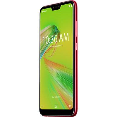 """Smartphone Zenfone Max Shot ZB634KL, Android 8.0, 64GB de Armazenamento, Câmera Frontal de 8MP, Câmera Traseira tripla de 12MP + 5MP + 8MP, Tela de 6.2"""", Vermelho - Asus CX 1 UN"""