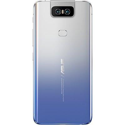 """Smartphone Zenfone 6 Z630KL, Android 9.0, 128GB de Armazenamento, Câmera Frontal de 48+13MP, Câmera Traseira de 48+13MP, Tela de 6.4"""", Bateria 5.000 mAh, Prata - Asus CX 1 UN"""