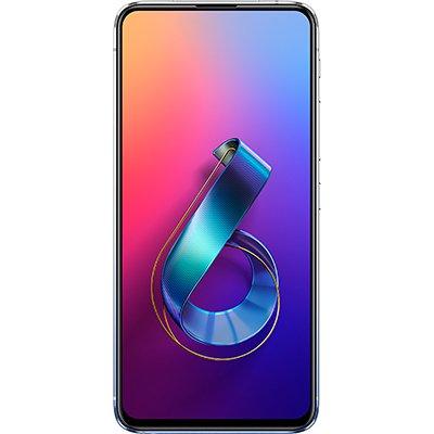 "Smartphone Zenfone 6 Z630KL, Android 9.0, 128GB de Armazenamento, Câmera Frontal de 48MP + 13MP, Câmera Traseira de Dual 48MP + 13MP, Tela de 6.4"", Bateria 5.000 mAh, Preto - Asus CX 1 UN"