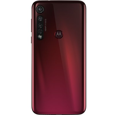 """Smartphone Moto G8 Plus XT2015-2, Android 9.0 Pie, 64GB de Armazenamento, Câmera Frontal de 25MP, Câmera Traseira de 48MP, Tela de 6.3"""", Cereja - Motorola CX 1 UN"""