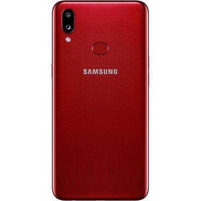 """Smartphone Galaxy A10S A107M, Android 9, Armazenamento de 32GB, Câmera Frontal de 8MP, Câmera Traseira Dupla de 13MP + 2MP, Tela de 6.2"""", Vermelho - Samsung CX 1 UN"""