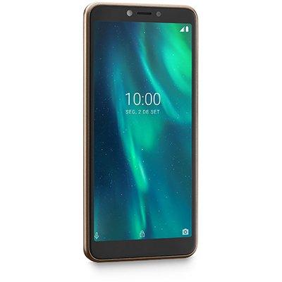 "Smartphone Multilaser F 16gb de Armazenamento, Câmera de 5mp, Tela de 5.5"", Dourado P9106 Multilaser CX 1 UN"