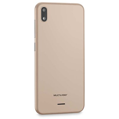 "Smartphone Multilaser E 16gb de Armazenamento, Câmera de 5mp, Tela de 5"", Dourado P9102 Multilaser CX 1 UN"