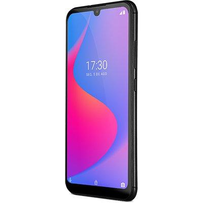 "Smartphone Multilaser G Pro, 32GB de Armazenamento, Câmera Frontal de 5MP,  Câmera Traseira Dupla de 13MP + 2MP, Tela de 6.1"", Preto P9097 - Multilaser CX 1 UN"