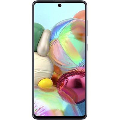 """Smartphone Galaxy A71 A715F, Android 9, 128GB de Armazenamento, Câmera Frontal de 32MP, Câmera Traseira Quádrupla 64MP + 12MP + 5MP + 5MP, Tela de 6.7"""", Cinza - Samsung CX 1 UN"""