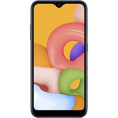 """Smartphone Galaxy A01, Android 10, Memória Interna de 32gb, Câmera Frontal 5mp, Tela de 5,7"""", Câmera Traseira 16mp + 2mp (Profundidade), Azul - Samsung CX 1 UN"""