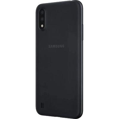 "Smartphone Galaxy A01, Android 10, 32GB de Armazenamento, Câmera Frontal de 5MP, Câmera Traseira de 13MP + 2MP, Tela de 5,7"", Preto - Samsung CX 1 UN"