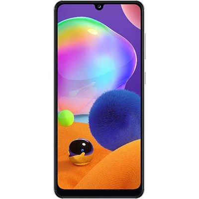 "Smartphone Galaxy A31, Android 10, Memória Interna de 128gb, Câmera Frontal 20mp, Tela de 6,4"", Câmera Traseira 48mp + 8mp (Ultra Wide) + 5mp (Profundidade) + 5mp (Macro), Branco - Samsung CX 1 UN"