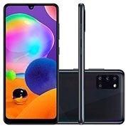 Smartphone Galaxy A31, Android 10, 128GB de Armazenamento, Câmera Frontal de 20MP, Câmera Traseira Quádrupla de 48MP + 8MP + 5MP + 5MP, Tela de 6.4, Preto - Samsung CX 1 UN