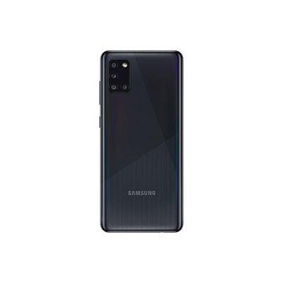 "Smartphone Galaxy A31, Android 10, 128GB de Armazenamento, Câmera Frontal de 20MP, Câmera Traseira Quádrupla de 48MP + 8MP + 5MP + 5MP, Tela de 6.4"", Preto - Samsung CX 1 UN"