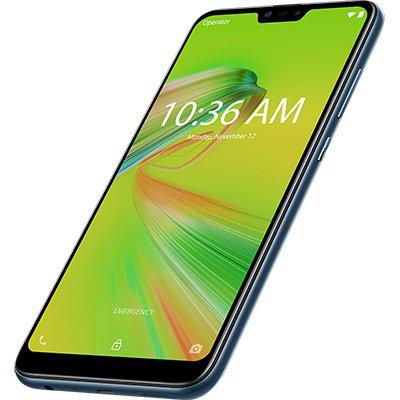 "Smartphone Zenfone Max Shot ZB634KL, Android 8.0, 64GB de Armazenamento, Câmera Frontal de 8MP, Câmera Traseira de 12MP + 5MP + 8MP, Tela de 6.2"", Azul - Asus CX 1 UN"