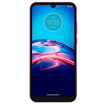 Smartphone Moto E6S XT2053-2, Android 9, 64GB de Armazenamento, Câmera Frontal de 5MP, Câmera Traseira Dupla de 13MP + 2MP, Tela 6.1, Vermelho - Motorola CX 1 UN