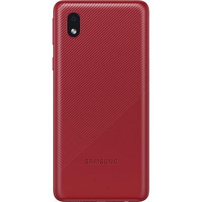 Smartphone Galaxy A01 Core, Android 10, 32GB de Armazenamento,  Câmera Frontal de 5MP, Câmera Traseira Dupla de 13MP + 2MP, Tela 5.3, Vermelho - Samsung CX 1 UN