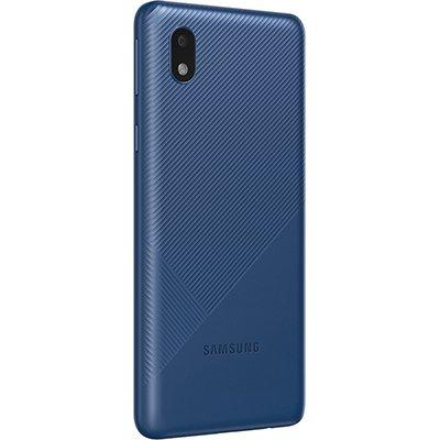Smartphone Galaxy A01 Core, Android 10, 32GB de Armazenamento, Câmera Frontal de 5MP, Câmera Traseira Dupla de 13MP + 2MP, Tela 5.3, Azul - Samsung CX 1 UN