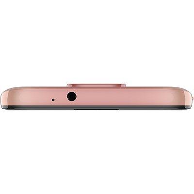 "Smartphone Moto G9 Play XT2083-1, Android 10, 64GB de Armazenamento, Câmera Frontal de 8MP, Câmera Traseira de 48MP + 2MP + 2MP, Tela de 6.5"", Rosa quartzo - Motorola CX 1 UN"