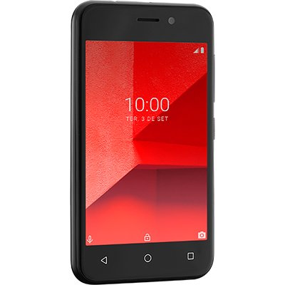 "Smartphone MultilaserE Lite 32gb 5mp 4""PT P9126 Multilaser CX 1 UN"