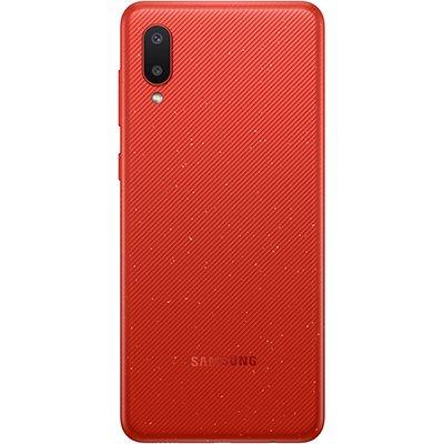 """Smartphone Galaxy A02A022M, Android 10, 32GB de Armazenamento, Câmera Frontal de 5MP, Câmera Traseira Dupla de 13MP + 2MP, Tela de 6.5"""", Vermelho, Samsung - CX 1 UN"""