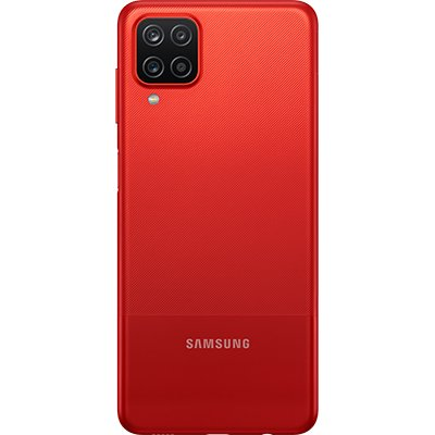 Smartphone Galaxy A12 SM-A125M, Android 10, 64GB de Armazenamento, Câmera Frontal de 8MP, Câmera Traseira Quádrupla de 48MP + 5MP + 2MP + 2MP, Tela 6.5, Vermelho - Samsung CX 1 UN